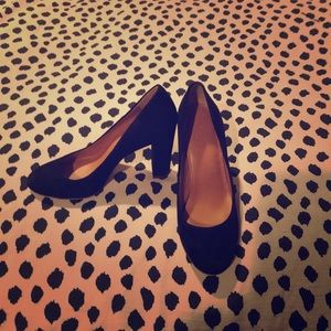 Shoes - Jcrew black pumps! Barely worn!